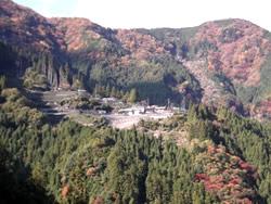 静岡の山村風景