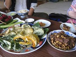 在来野菜の郷土料理